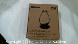Pyle 2.4 G Wireless digital Hearing Assistance System