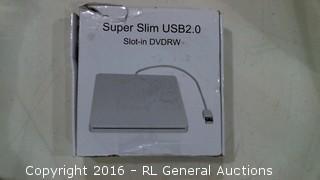 Super Slim USB 2.0 Slot in DVDRW