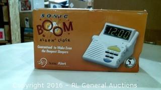 Song Boom Alarm Clock