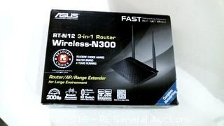 ASUS RT-N12 3 in 1 Router Wireless N300