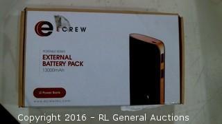 Ecrew Portable Series External Battery Pack