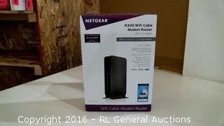 Netgear N300 WiFi Cable Modem Router
