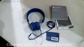 Cobalt Headphones