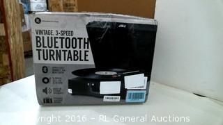 Vintae 3 Speed Bluetooth Turntable