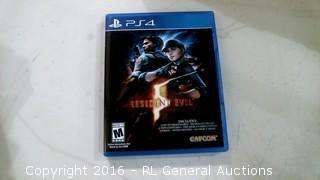 PS4 Resident Evil