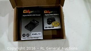 Digital Micro USB Charger