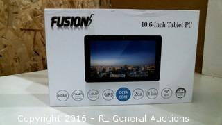 Fusion 10.6 Inch Tablet PC