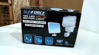 SunForce 120 LED Solar Motion Light