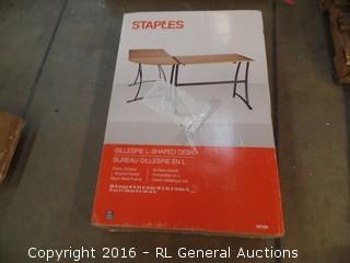 L Shaped Design Desk