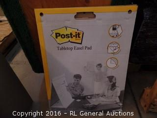 Post It Tabletop Easel Pad