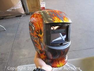 Darkening Solar Powered Welding Helmet