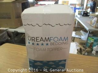 Dreamfoam Bedding topper