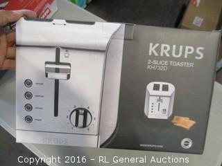 Krups toaster