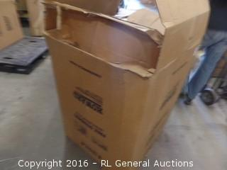 Rubbermaid Commercial Free Standing Waste Receptacle Package Damaged New In Box
