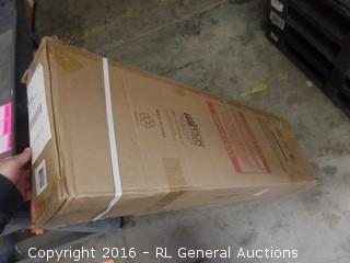 2 Section Locker Bench Packaged Damaged New in Box