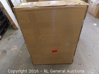 School Specialty Plastic Service Cart Grey Package Damaged New In Bx