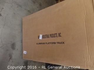 Aluminum Platform Truck Package damaged New in Box