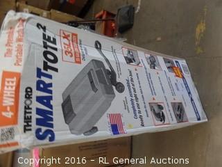 Thetford Smart tote Portable waste Truck