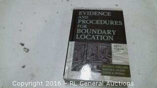 Evidence Procedures