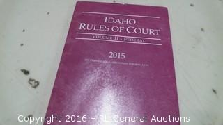 Idaho Rules of Court
