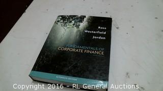 Fundamential of corporate Finance