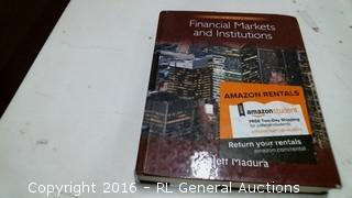 Financial Markers and Institutions