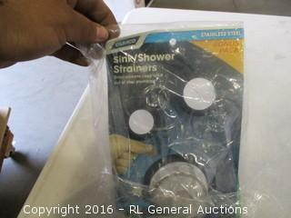 Sink/shower strainers