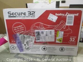 Secure 32 Infant Car Seat Base