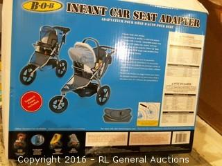 Infant car seat adapter