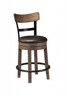 Signature Swivel Barstool retail $110.99  (Package Damaged New In Box)