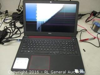 Dell Inspiron 15 7000 Series (Powers On, Screen Cracked))
