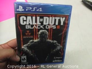 PS4 Call of Duty 3 Game