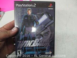 Playstaion 2 WinBack Gane