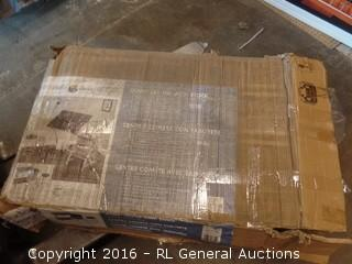 Comet Center with Stool Package Damage New in Box