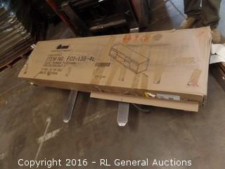 70 inch TV Stand Package Damaged New In box