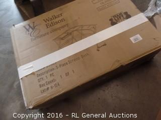 Walker Edison Soreno Desk Package Damaged New In Box