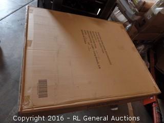 Sleep Master BiFold Box Spring Folding Package Damaged New In Box