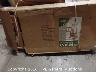 H Frame Easel (Package Damaged,New In Box)