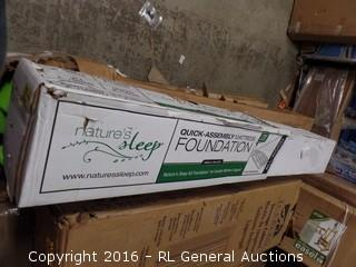 Natures Sleep All Wood- King (Package Damaged,New In Box)