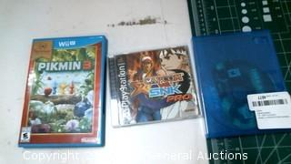 Wii Pikmin 3 and Playstation Capcom SNK