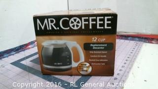 Mr Coffee Replacement decanter
