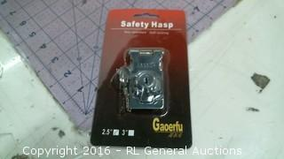 Safety hasp