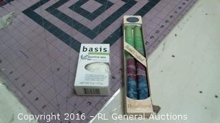 Candles and Basic bar