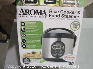 Aroma Rice cooker and food steamer