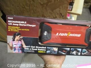 Lightging Rechargeable 12v Jump Starter/Charger