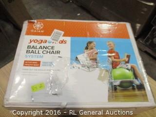 Yoga Kids Balance Ball chair System