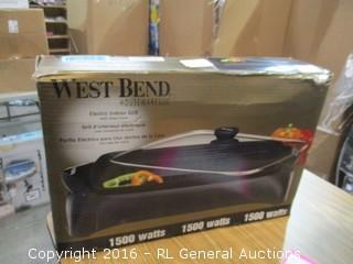 West Bend Electric Indoor Grill