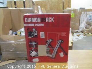 Diamond Rack Fluid Trainer Podium