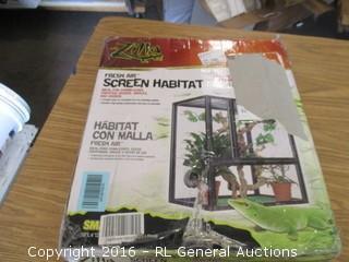 Fresh Air Screen Habitat
