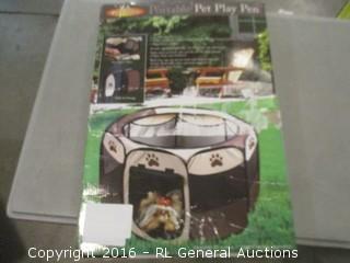 Portable Pet Play Pen